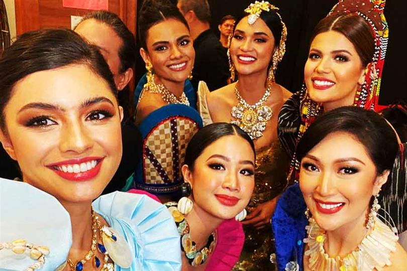 International Filipina beauty queens dazzle at the Southeast Asian Games 2019