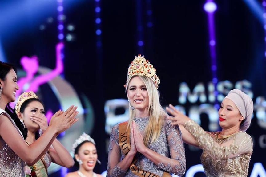 Monique Best of South Africa crowned Miss Planet International 2019