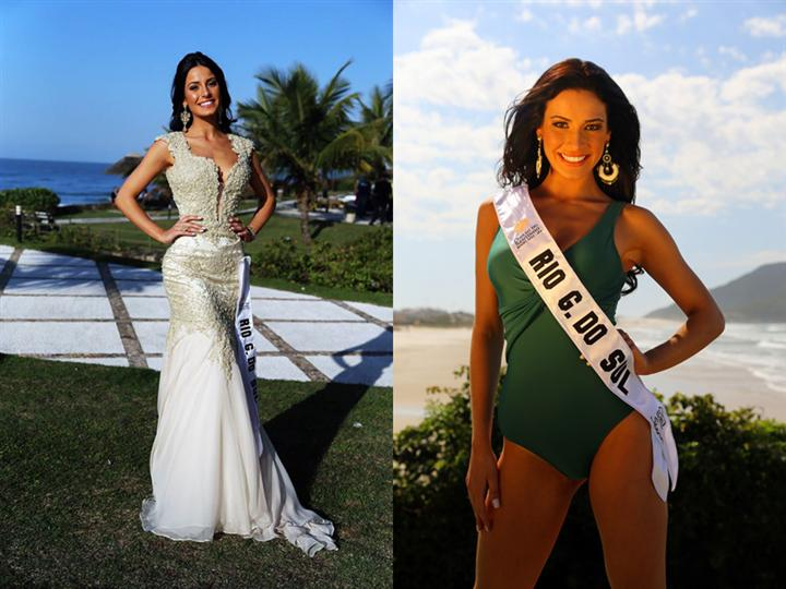 Julia Gama Miss Mundo Brasil 2014 Winner