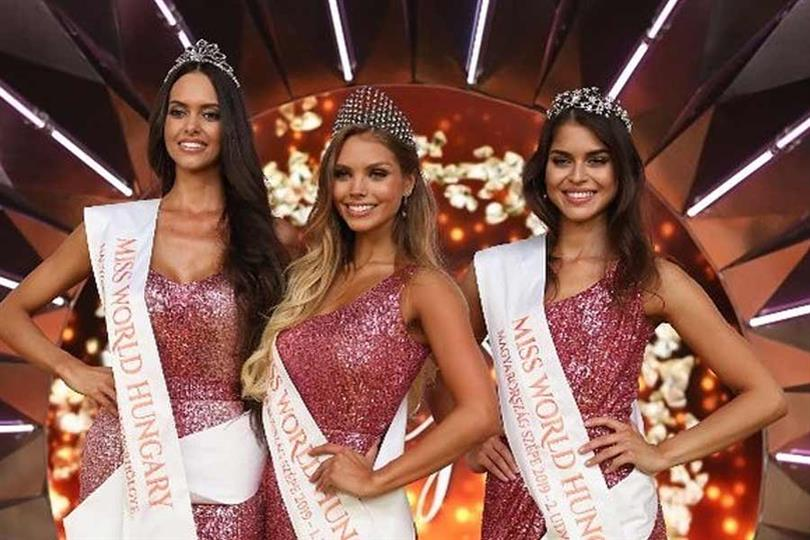 Krisztina Nagypál crowned Miss World Hungary 2019