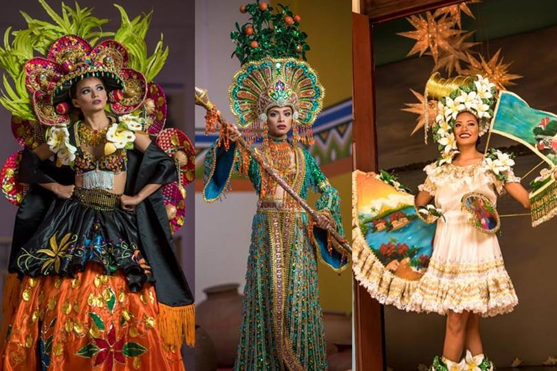 The divas of Miss Nicaragua 2018 dazzle in National Costumes!