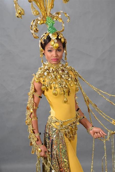 Niketa Barker Miss Universe Guyana 2014