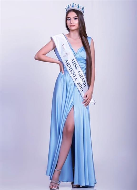 Lily Sargsyan is Miss Grand Armenia 2019