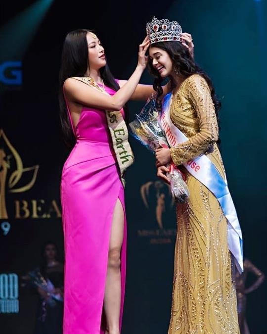 Tejaswini Manogna crowned Miss Earth India 2019
