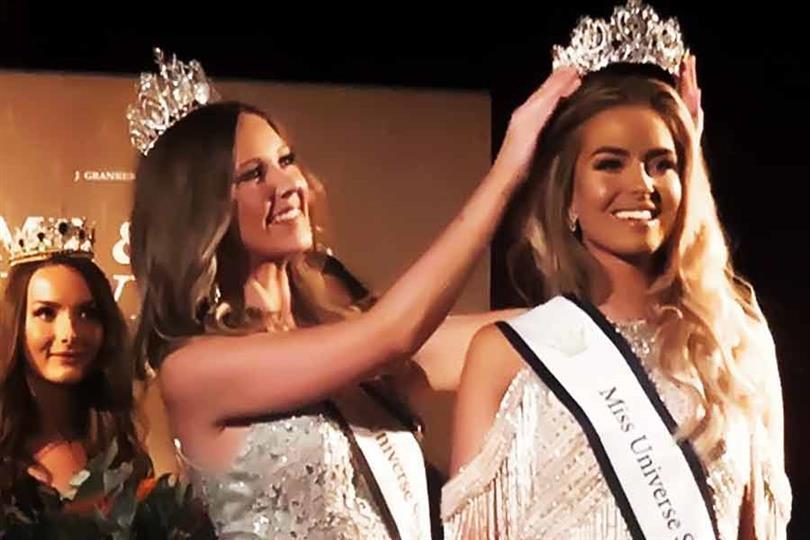 Lina Ljungberg crowned Miss Universe Sweden 2019