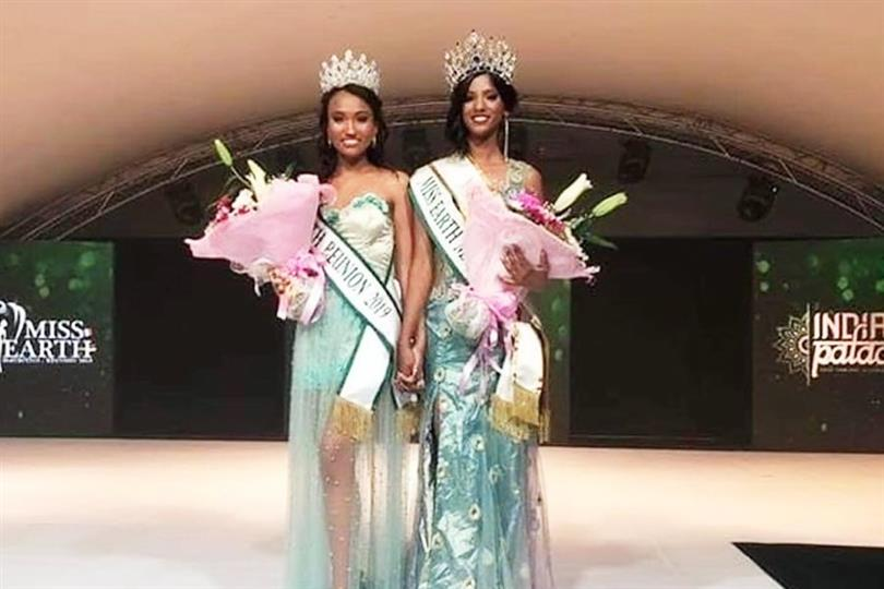Miss Earth Mauritius 2019 and Miss Earth Reunion Island 2019 crowned for Miss Earth 2019