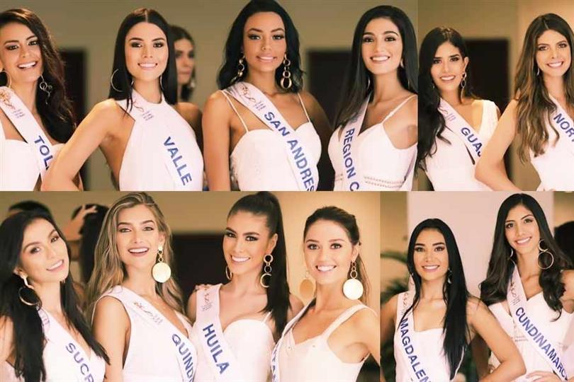 Señorita Colombia 2020 Meet the Contestants