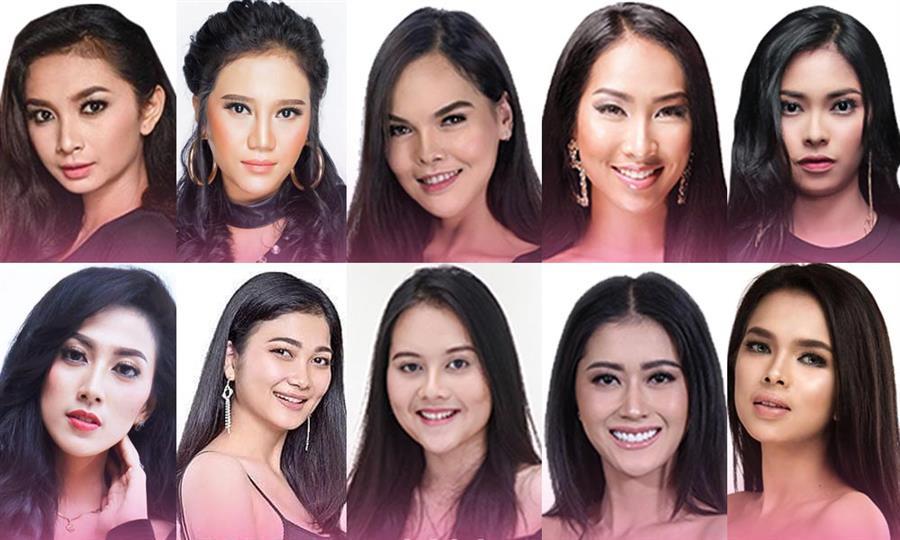 Puteri Indonesia 2019 Meet the Contestants