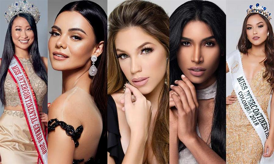 Miss Intercontinental 2018 Top 15 Hot Picks by Angelopedia