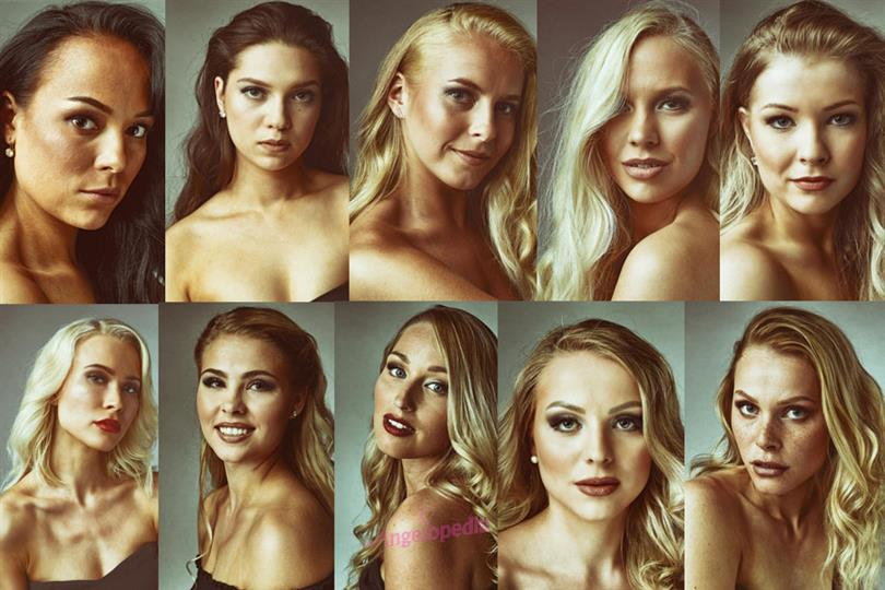 A unique beauty: Miss Finland 2018 contestants