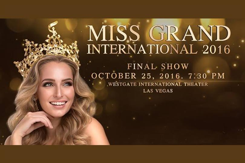 Miss Grand International 2016 Live Telecast, Date, Time and Venue