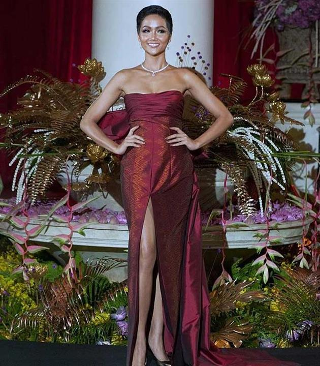 Best Dressed delegates from the Thai Night of Miss Universe 2018