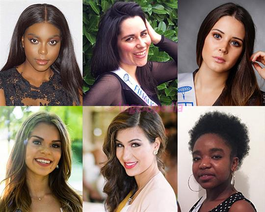 Miss International France 2018 Meet the Contestants