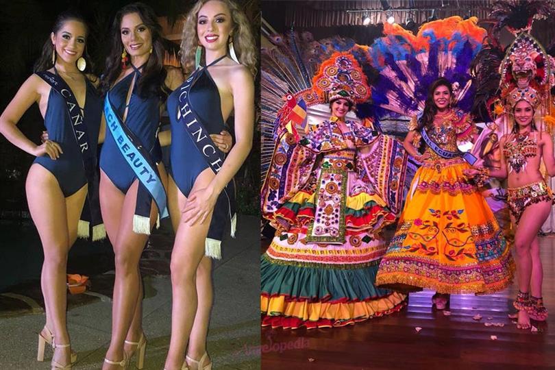 Miss World Ecuador 2018 Preliminary results