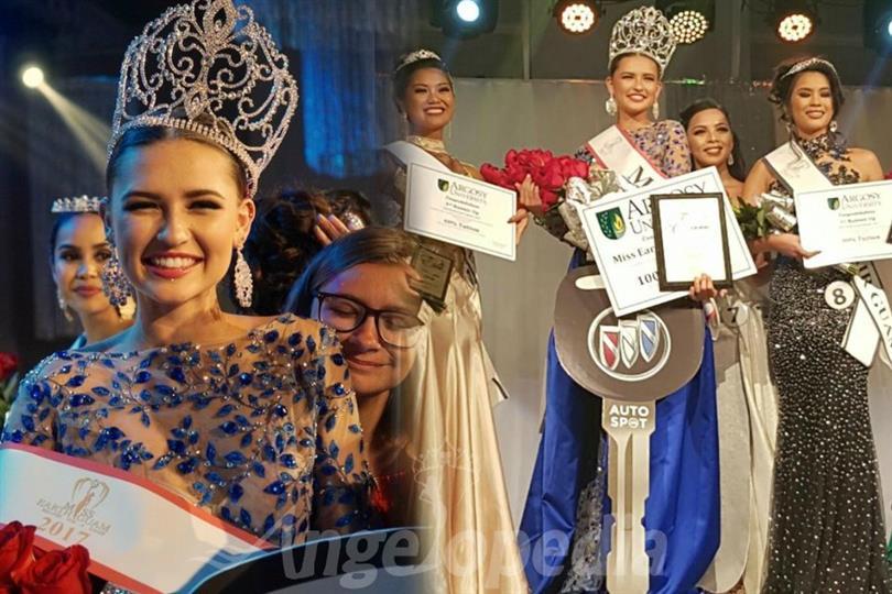 Emma Mae Sheedy crowned as Miss Earth Guam 2017