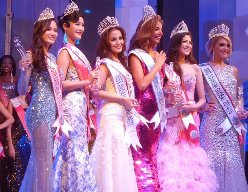 Miss Tourism International 2014 Winners