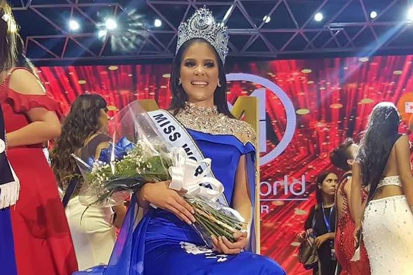 María Auxiliadora Idrovo crowned Miss World Ecuador 2019 for Miss World 2019
