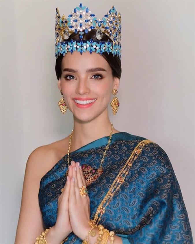Miss World 2018 Vanessa Ponce de Leon appreciates Thailand's culture on her visit