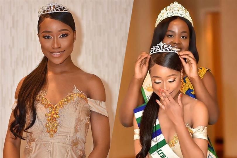 Fanta Kabia crowned Miss Grand Sierra Leone 2018