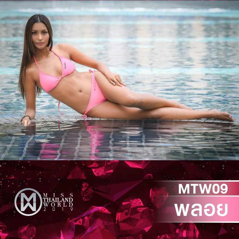Our Favourites from Miss World Thailand 2019 Swimsuit Glam Shots