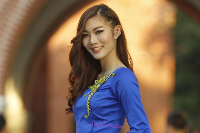 Miss Intercontinental Myanmar 2018 Nang Mway Phoung Loong