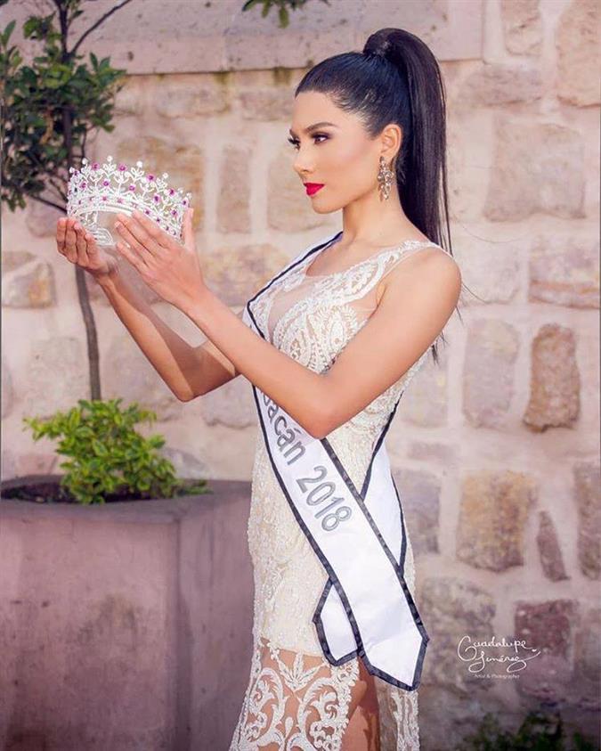 Meet Diana Martinez Mexicana Universal 2018 Michoacán for Mexicana Universal 2019