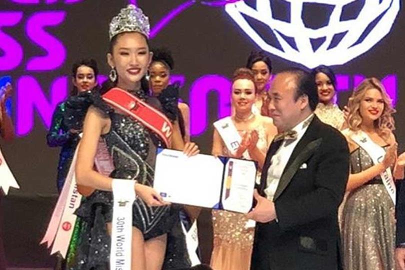 Thanh Khoa of Vietnam crowned World Miss University 2019
