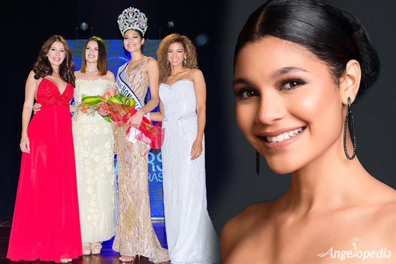 April Tobie crowned Miss Universe Honduras 2017