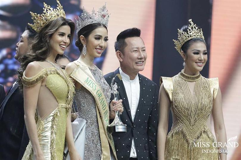 Nadia Purwoko, Miss Grand Bengkulu 2018, crowned Miss Grand Indonesia 2018