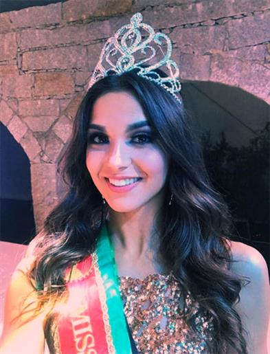 Camila Vitorino crowned Miss Earth Portugal 2020
