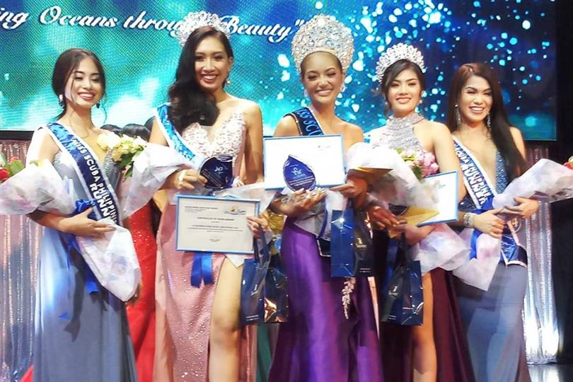 Noelle Fuentes Uy Tuazon crowned Miss Scuba Philippines 2018