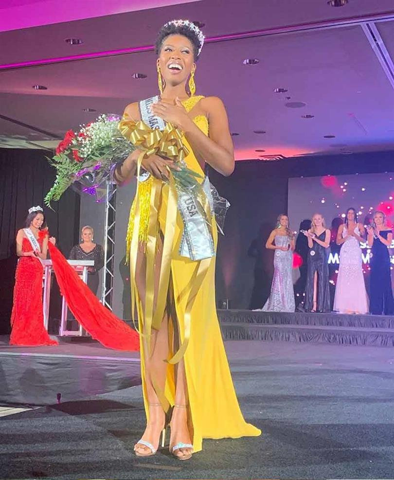 Sabrina Victor winner Miss Massachusetts USA 2020