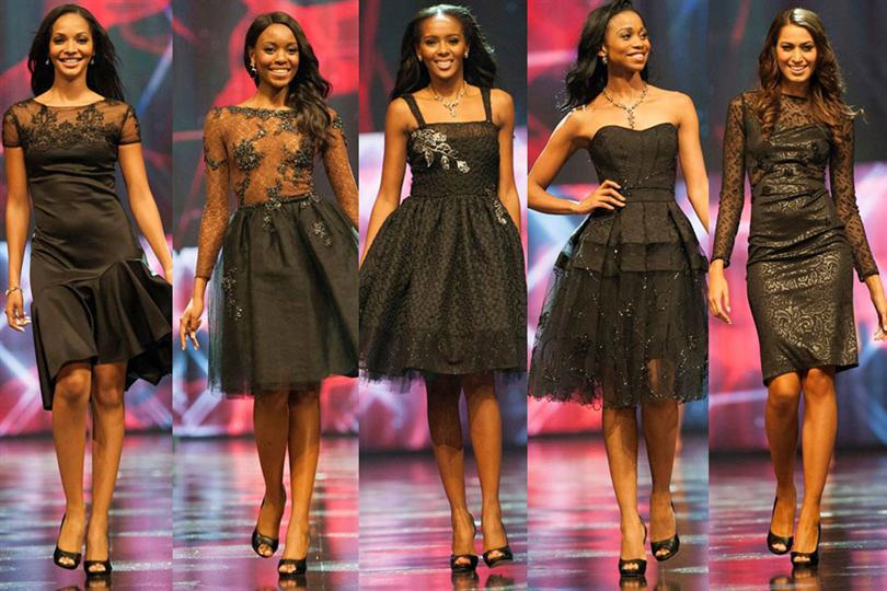 Miss South Africa 2015 Top 5 finalists