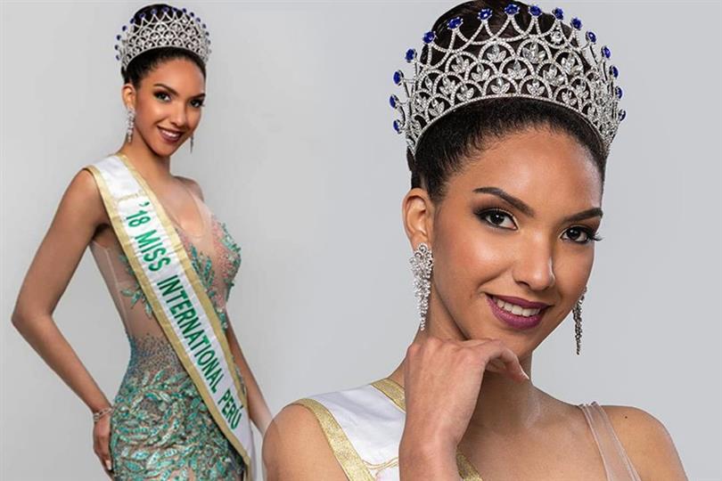 Marelid Elizabeth Medina to represent Peru in Miss International 2018