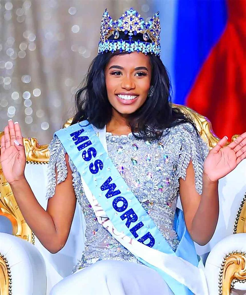 Miss World 2019 Toni-Ann Singh uses her voice to advocate for women