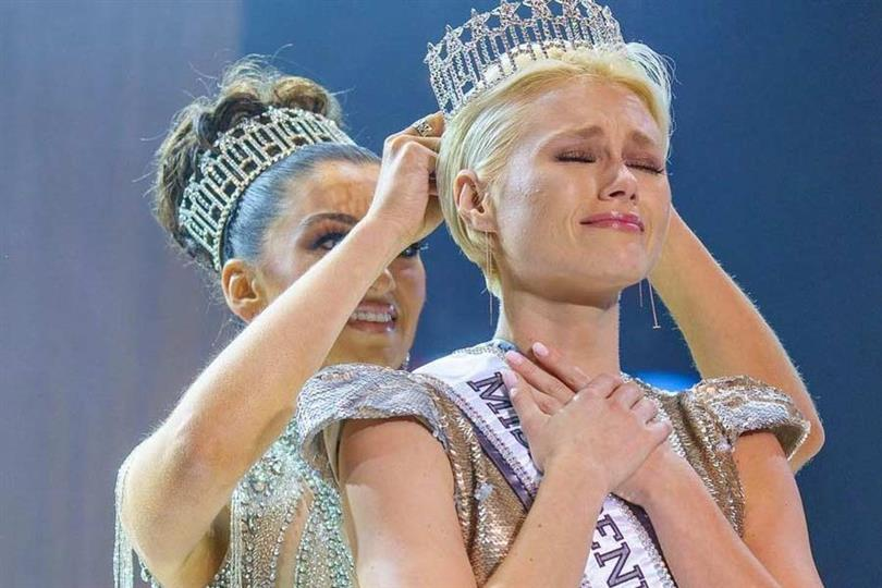 Sydney Robertson crowned Miss Pennsylvania USA 2021 for Miss USA 2021
