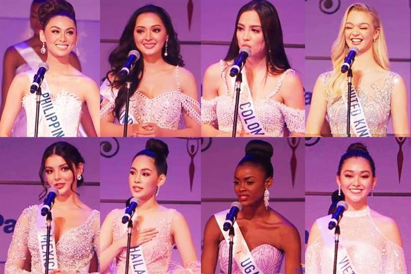 Miss International 2019 Top 8 Speech Round