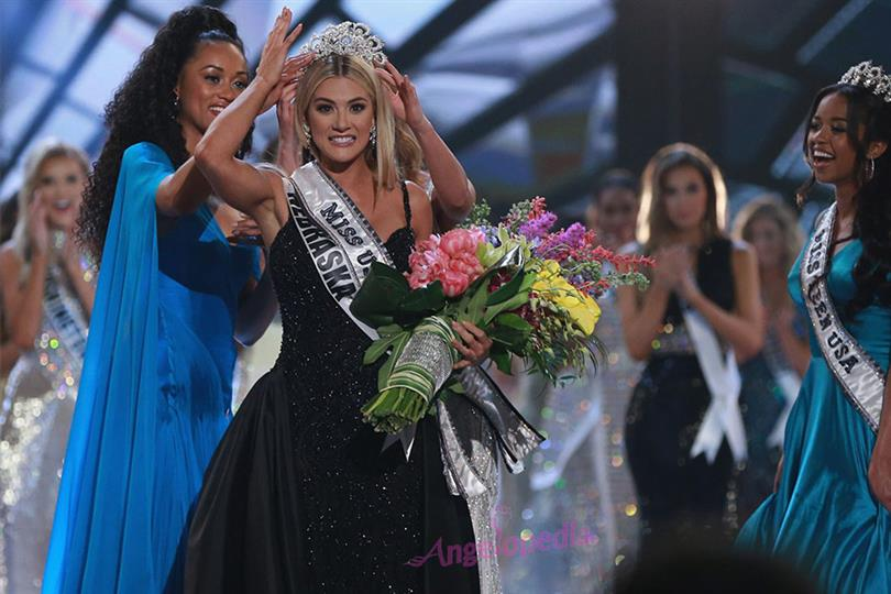 Sarah Rose Summers from Nebraska crowned Miss USA 2018