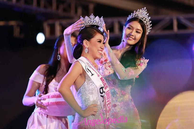 Hnin Thway Yu Aung crowned Miss Universe Myanmar 2018