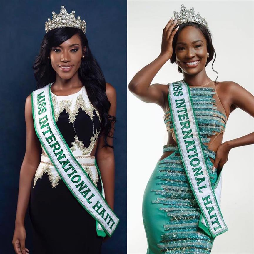 Chéry Cassandra replaces Merlie Fleurizard as the new Miss International Haiti 2018