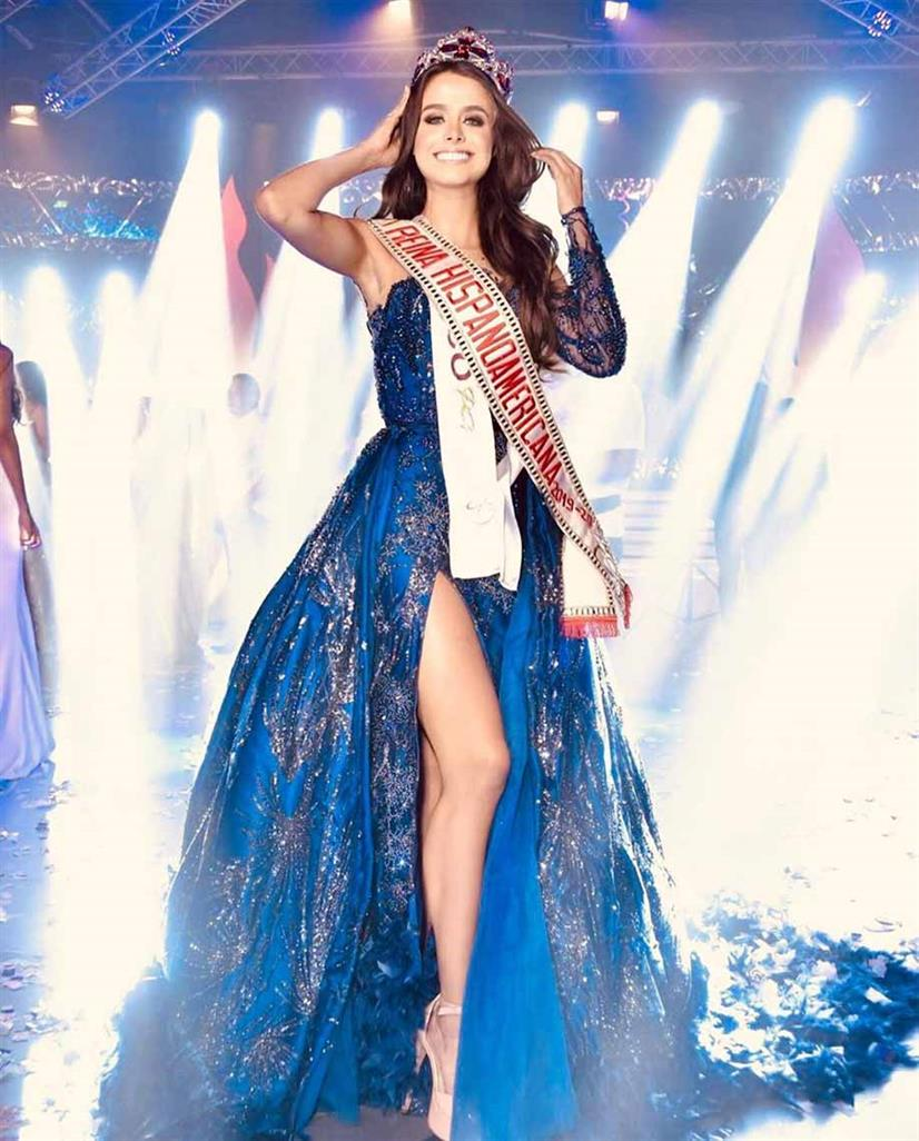 All about Reina Hispanoamericana 2019 Regina Peredo Gutiérrez