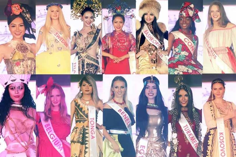 Face of the Beauty International 2019 held its national costume and swimsuit competition today at Pradera Verde.