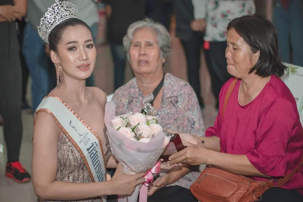 Tangky Sirirat crowned Miss Grand Ubonratchathani 2019 for Miss Grand Thailand 2019