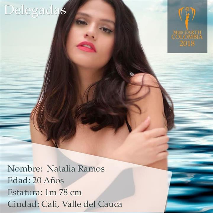 Natalia Ramos – Sixth delegate of Miss Earth Colombia 2018