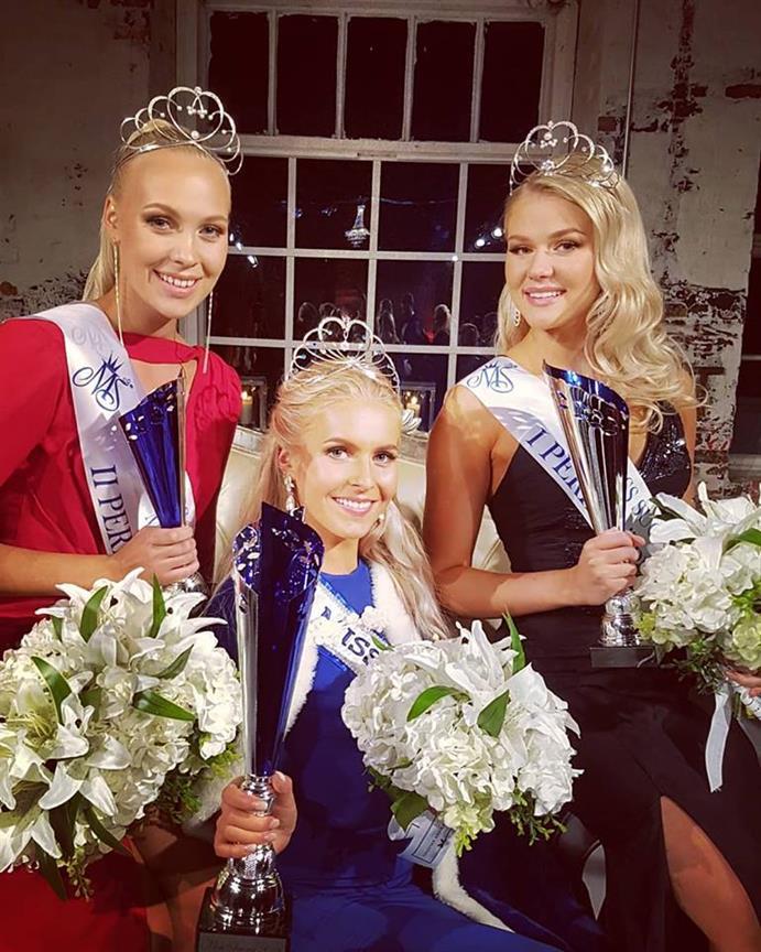 Alina Voronkova crowned Miss Finland 2018