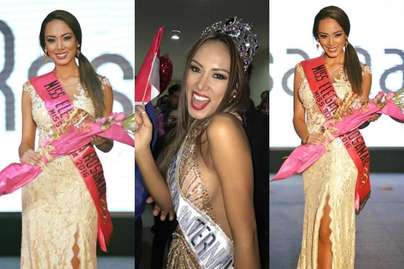 Katherine Añazgo crowned as Miss Bolivia International 2016