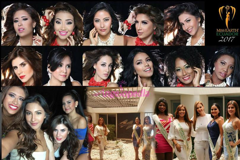 Meet the contestants of Miss Earth Ecuador 2017