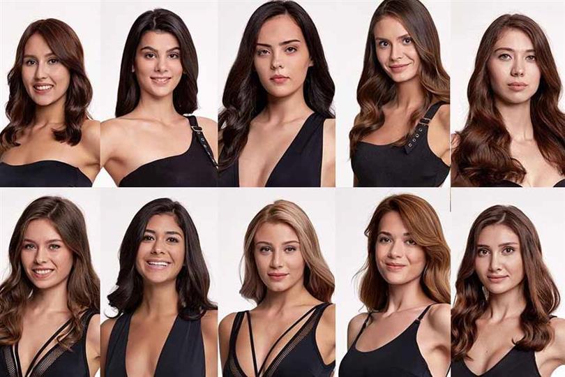 Miss Turkey 2019 Meet the Contestants