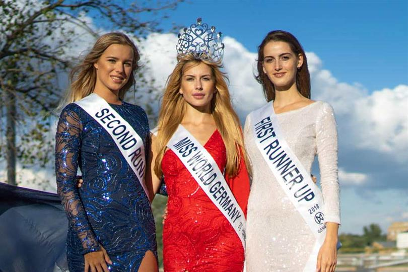 Christine Annabelle Keller crowned Miss World Germany 2018