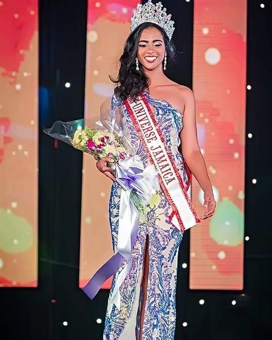 Iana Tickle Garcia crowned Miss Universe Jamaica 2019